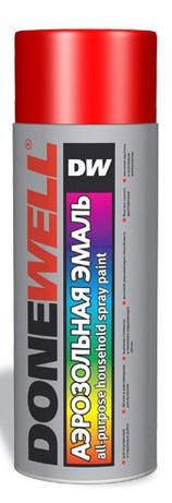DW-1102 Эмаль универсальная черная матовая 520мл