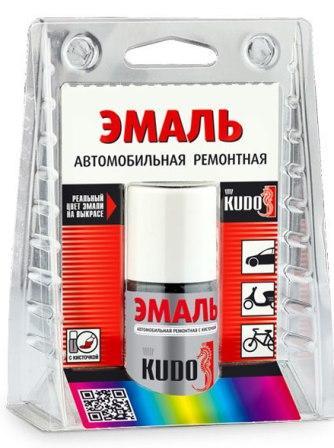 KU-70690 Эмаль авт.рем.с кисточкСнежная королева